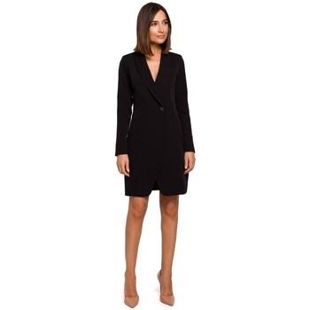 Textil Ženy Šaty Style S217 Sako - černé šaty