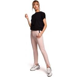 Textil Ženy Kalhoty Moe M493 Kalhoty s dělenými nohavicemi - candy pink