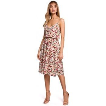 Textil Ženy Krátké šaty Moe M518 Šaty se špagetovými ramínky - model 5
