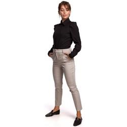 Textil Ženy Košile / Halenky Be B165 Košile s puff rukávem - černá