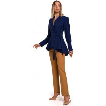 Textil Ženy Saka / Blejzry Moe M529 Blejzr ve fraku - tmavě modrý