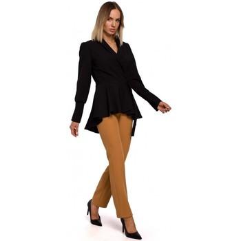 Textil Ženy Saka / Blejzry Moe M529 Blejzr ve fraku - černý