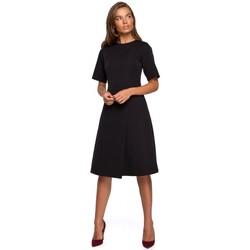 Textil Ženy Krátké šaty Style S240 Zavinovací šaty - červené