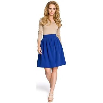 Textil Ženy Sukně Moe M237 Sukně - královská modř