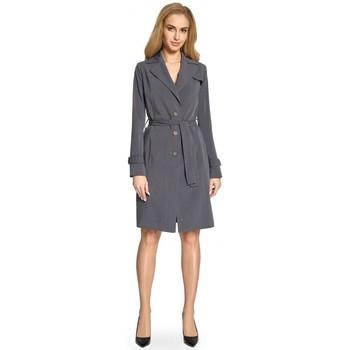 Textil Ženy Pláště Style S094 Plášť - šedý