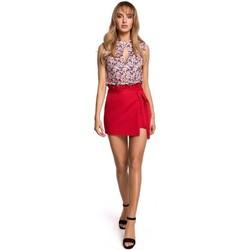Textil Ženy Sukně Moe M515 Šortky - červené