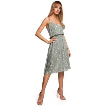 Textil Ženy Krátké šaty Moe M518 Šaty se špagetovými ramínky - model 7