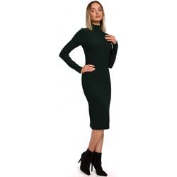 Textil Ženy Společenské šaty Moe M543 Šaty s potiskem a rolákem - model 1