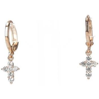 Hodinky & Bižuterie Ženy Náušnice Luna Collection 54125 Zlatá