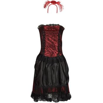 Textil Ženy Převleky Fun Costumes COSTUME ADULTE SALOON GIRL
