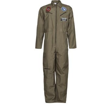 Textil Muži Převleky Fun Costumes COSTUME ADULTE PILOTE JET Khaki