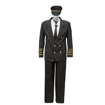 Textil Muži Převleky Fun Costumes COSTUME ADULTE PILOTE