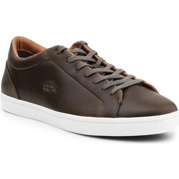 Boty Muži Nízké tenisky Lacoste Straightset 316 3 CAM 7-32CAM00971X5 brown