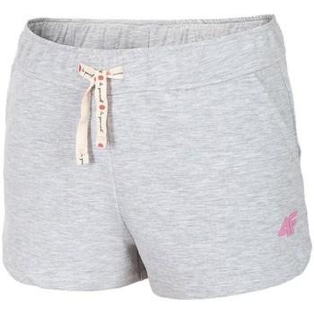 Textil Ženy Tříčtvrteční kalhoty 4F JSKDD001 Šedé