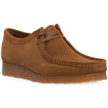 Boty Kotníkové boty Clarks WALLABEE BLK Nero