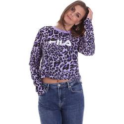 Textil Ženy Trička s dlouhými rukávy Fila 687972 Fialový