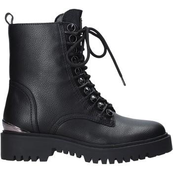 Guess Kotníkové boty FL8OXA ELE10 - Černá
