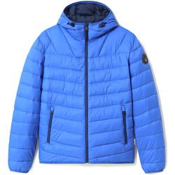 Textil Muži Prošívané bundy Napapijri NP0A4ENN Modrý