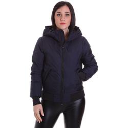Textil Ženy Bundy Refrigiwear RW8W13600NY3209 Modrý