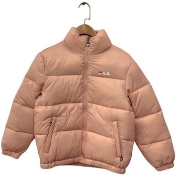 Textil Děti Prošívané bundy Fila 688419 Růžový
