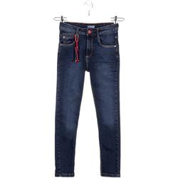 Textil Děti Rifle slim Losan 023-6028AL Modrý