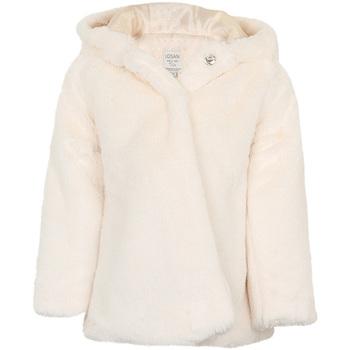 Textil Dívčí Kabáty Losan 026-2795AL Bílý