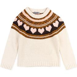 Textil Dívčí Svetry Losan 026-5001AL Bílý