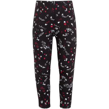 Textil Dívčí Legíny Losan 026-6000AL Černá