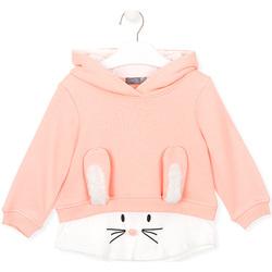 Textil Děti Mikiny Losan 026-6024AL Růžový
