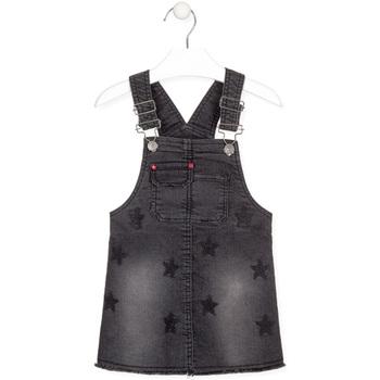 Textil Dívčí Overaly / Kalhoty s laclem Losan 026-7032AL Černá