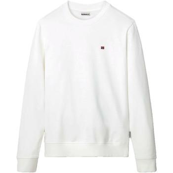 Textil Muži Mikiny Napapijri NP0A4EW7 Bílý