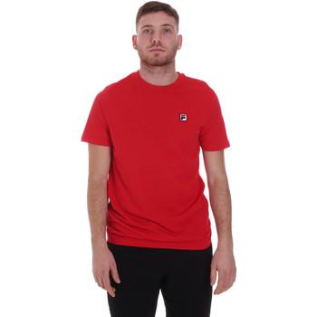 Textil Muži Trička s krátkým rukávem Fila 682393 Červené