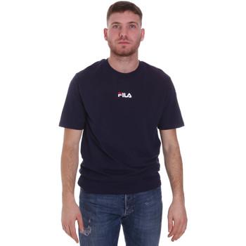 Textil Muži Trička s krátkým rukávem Fila 687990 Modrý