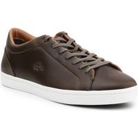 Boty Muži Šněrovací polobotky  & Šněrovací společenská obuv Lacoste Straightset 316 3 Cam Hnědé