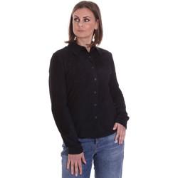 Textil Ženy Košile / Halenky La Carrie 092P-C-110 Černá