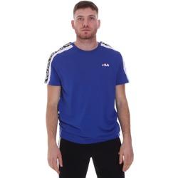 Textil Muži Trička s krátkým rukávem Fila 687700 Modrý