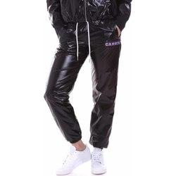 Textil Ženy Teplákové kalhoty La Carrie 092M-TP-411 Černá