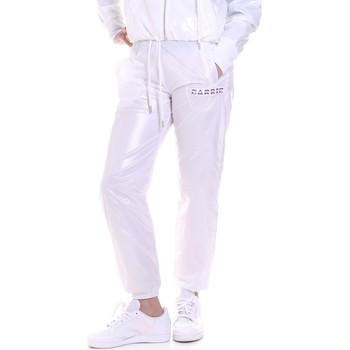 Textil Ženy Teplákové kalhoty La Carrie 092M-TP-421 Bílý