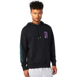 Textil Muži Mikiny New Balance NBMT03536BK Černá