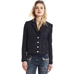 Textil Ženy Bundy Gaudi 821BD35025 Černá