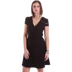 Textil Ženy Krátké šaty Dixie A529M068 Černá