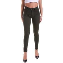Textil Ženy Kalhoty Hanny Deep F651YALESA03 Zelený