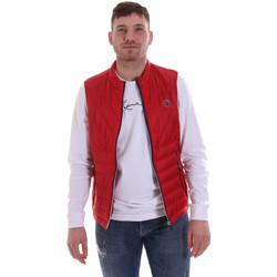Textil Muži Prošívané bundy Gaudi 811BU35013 Červené