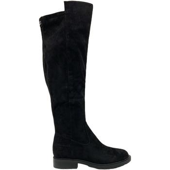 Guess Kotníkové boty FL8RNL ESU11 - Černá