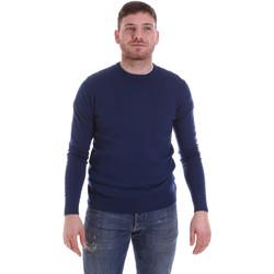 Textil Muži Svetry John Richmond CFIL-117 Modrý