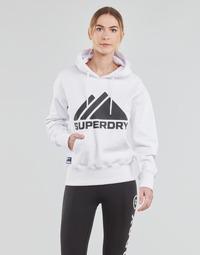 Textil Ženy Mikiny Superdry MOUNTAIN SPORT MONO HOOD Bílá