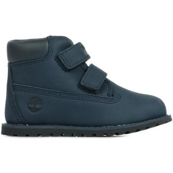 Boty Děti Kotníkové boty Timberland Pokey Pine Modrá