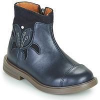 Boty Dívčí Kotníkové boty Little Mary ELIANE Modrá
