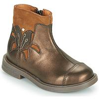 Boty Dívčí Kotníkové boty Little Mary ELIANE Zlatá