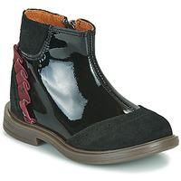 Boty Dívčí Kotníkové boty Little Mary ELSIE Černá